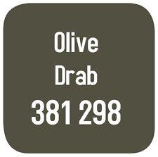 BRITISH STANDARD 381C 298 CELLULOSE PAINT  OLIVE DRAB 2.5L
