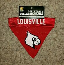 collegiate collar bandana louisville cardinals triangle for pets FREE SHIPPING!!