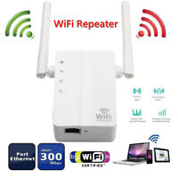 Router Dual Antenna Wireless Range Extender WiFi Repeater For Home Office