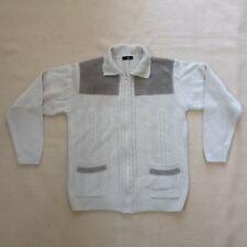 BHS Men's Beige / Light Grey / Cardigan Size Small 89-94 cm / 35-37 in