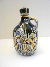 Cobalt Blue Porcelain Jug/Music Box/Liquor Decanter/Crown Stopper