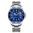 Mens Watch Relojes De Hombre Stainless Steel Quartz Luminous Classic Watches