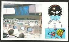 United States 1985 Jul 29 space Maxi Card Shuttle Challenger STS-51-F launch TXH