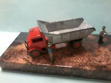 MODIFIED Trux 1/50 Chevrolet Blitz truck with unpainted tipping tray to paint