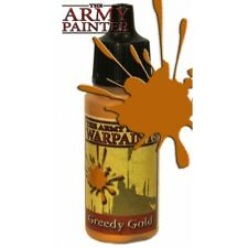 The Army Painter War Game Warpaint Greedy Gold 18ml