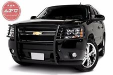 APU 07-14 Tahoe Suburban Avalanche Grill Bumper Brush Guard Push Bar Black
