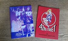 Early Catherine Zeta Jones The Pyjama Game 1986  / 42nd Street 1987 Drury Lane