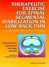Therapeutic Exercise for Spinal Segmental Stabilization: In Lower Back Pain
