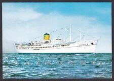 MOTONAVE ANDREA C. 01 NAVE MARINA NAVIGAZIONE SHIP Cartolina viaggiata 1976