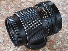 Carl Zeiss Jena Electric DDR MC 135mm f3.5 telelphoto lens M42 mount.