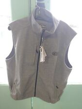 NEW DRAKE WATERFOWL HEATHER WINDPROOF LAYERING VEST large grey