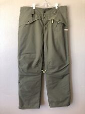 686 Snowboard Pants With Removable Pads Olive Green Womens Size XL