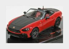Fiat Abarth 124 Spider Turismo 2017 Red Black IXO 1:43 MOC295