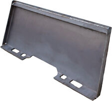 "5/16"" Heavy Duty Universal Skid Loader Quick Attach Skid Steer Solid Plate"
