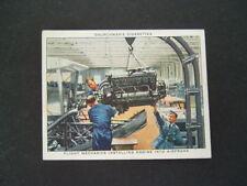 Churchman - RAF At Work (1938) - Card # 20. Flight Mechanics / Engine Air Frame