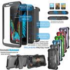 Hybrid Shockproof Case Durable Built-in Screen Cover for LG K10 / Premier LTE