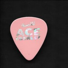 Kiss Solo ACE FREHLEY Bad Boys Tour 1995 Guitar Pick Pink Silver Prism Lettering