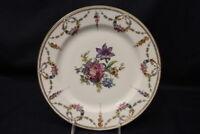 """Set of 12 Vtg Schumann Bavaria SAN LUIS REY Floral & Gold Swag 10"""" Dinner Plates"""