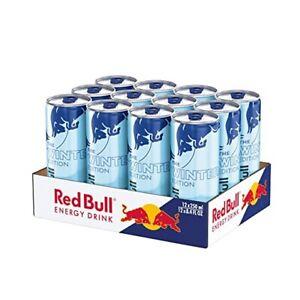 Red Bull Winter Edition Gletschereis Himbeere 12 x 0,25l inkl. 3€ EINWEG Pfand