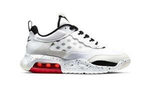 Nike Air Jordan Max 200 White Red Vast Gray Black CD6105-100 Men's Size 13