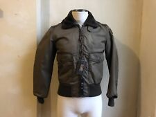 RA-RE RAG DESIGNER MILITARY GREEN FLIGHT AVIATOR BOMBER JACKET M FAUX FUR COLLAR