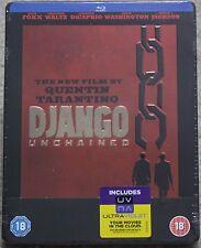 Django Unchained ~UK Blu-Ray Steelbook~ Quentin Tarantino / Jamie Foxx *NEW* OOP