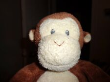 Ty Monkey Pluffies DANGLES Retired Sewn Eyes Tush Tag Stuffed Animal Brown 2007