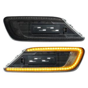 SCHWARZE LED Seitenblinker BMW Mini Clubman F54 One Cooper S D SD ALL4 JCW