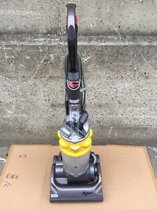 Dyson DC33 Multi Floor Upright Hoover Vacuum Cleaner - Grey & Yellow