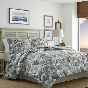 NIP Tommy Bahama Raw Coast Tropical King Comforter & Shams Set 3pc