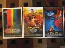 "STAR TREK( 11"" X 17"" ) Movie Collector's Poster Prints ( Set of 3 )"
