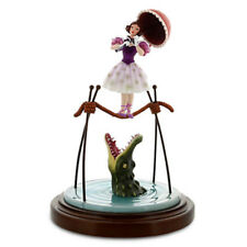 Disney The Haunted Mansion Tightrope Girl Figure Ballerina and Alligator new