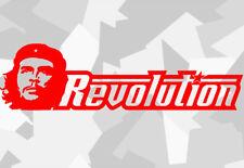 1x Che Guevara Rivoluzione AUTO STICKERS Castro TUNING DECAL Cuba Cuba Fidel XXW