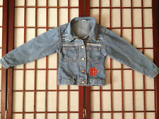 Palo Mino Blue Long Sleeve Jean Jacket Girl Sze 4 or 5 Apparel Cotton Garment