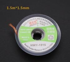 1 Pc Copper Soldering Wick Bga Desoldering Wire Braid Solder Remover Belt Wire