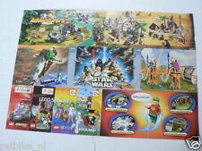 LEGO BROCHURE FLYER CATALOG TOYS 2000 KNIGHTS KINGDOM DUTCH 2 PAGES 122