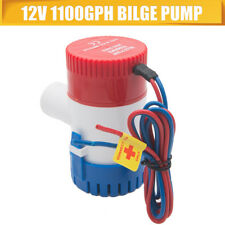 Sump Bilge Pump 12V/24V Float Switch for RV Boat Yacht Pumping Water