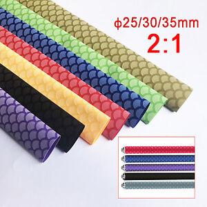Non-Slip Heat Shrink Tube Textured Heatshrink Sleeving Wrap Fishing Rod Racket