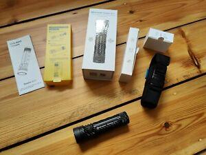 Olight Seeker 2 Pro Limited Edition Carbon  Mit allem Zubehör Surefire Lampe EDC