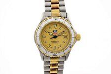 Vintage Tag Heuer 2000 Series 974.008 Quartz Two Tone Ladies Watch 1535