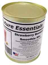 New Case of Banana Smoothie Mix 10 years shelf life, 6 #2.5 cans 20 oz cans
