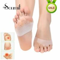 Honeycomb Silicone Gel Anti Slip Forefoot Half Yard Insoles Medical High Heel
