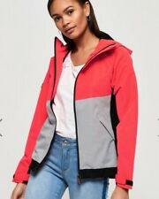 SUPERDRY ELITE  SD-WINDCHEATER JACKET  UK 10 IN CANDY PINK BNWT RRP£ 74.99