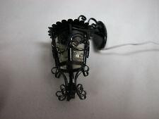 Heidi Ott Dollhouse Miniature Light 1:12 Scale Ornate Carriag  Wall Lamp #YL2049