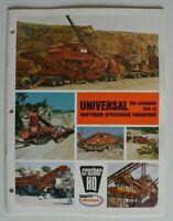 UNIVERSAL Crusher HQ 1982 dealer brochure catalog - English - USA