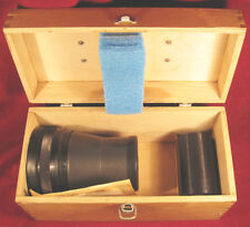 KIT ANAMORPHIC Nozzle 35NAP2-2 F=80-120mm+MOVIE PROJECTOR LENS RO501-1+BOX LOMO
