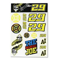 NEW Moto GP Andrea Iannone Large Sticker Set Official Product MotoGp Stickers