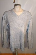 BANANA REPUBLIC GRAY LUXURY BLEND ANGORA CASHMERE PULL OVER SWEATER MENS M