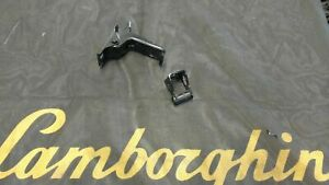 LAMBORGHINI MURCIELAGO LP640 FRONT AND REAR HOOD LATCH BRACKET ASSEMBLY OEM