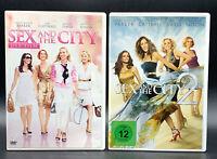 DVD: Sammlung SEX AND THE CITY 1-2 (1 + 2) Komplett Deutsch
